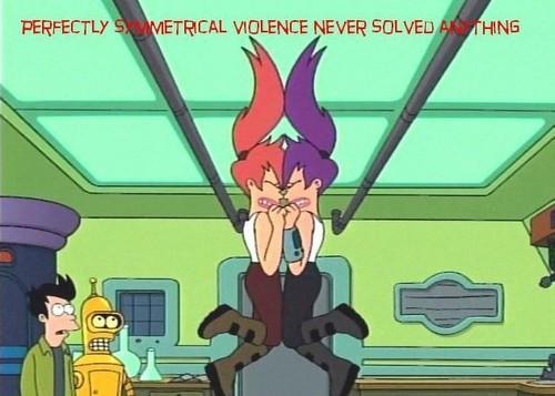 It's better than asymmetrical violence!