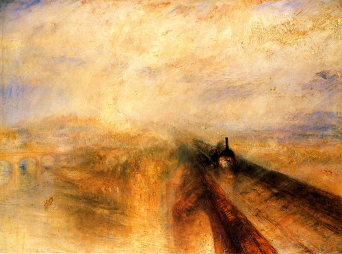 J.M Turner - Rain Steam & Speed: The Great Western Railway (1844)