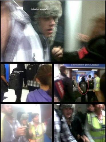 JUSTIN AIRPORT THIS MORNING IN BELFAST!!!!