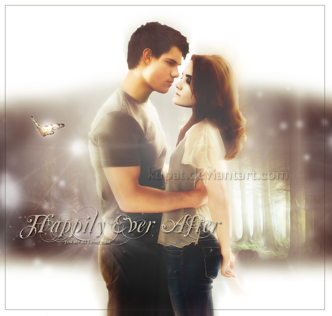 Jacob Black And Renesmee Cullen Kissing