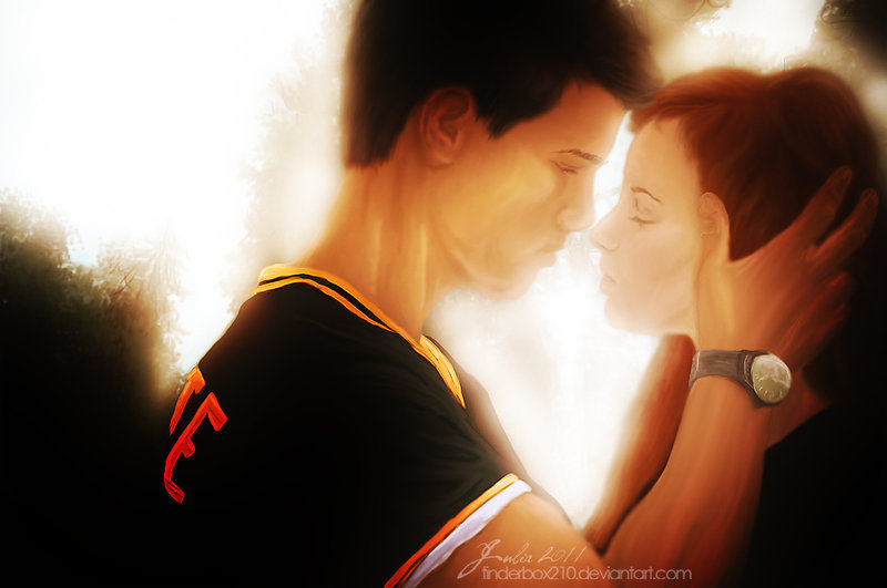 Jacob & Renesmee - Jacob Black and Renesmee Cullen Photo ...
