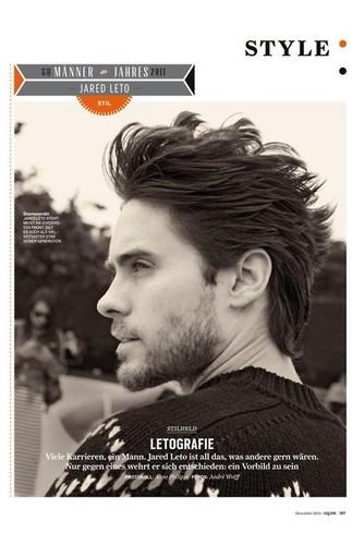 Jared leto - Magazine