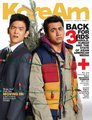 John Cho & Kal Penn on the Cover of KoreAm Magazine (November 2011)