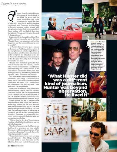 Johnny Depp GQ Magazine
