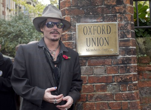 Johnny @ the oxford Union (05/11/2011)