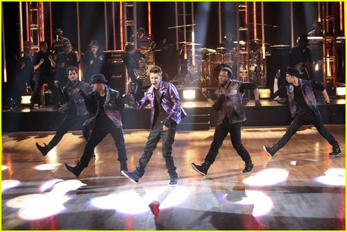 Justin Bieber: 'Dancing With The Stars' Pics & Video!