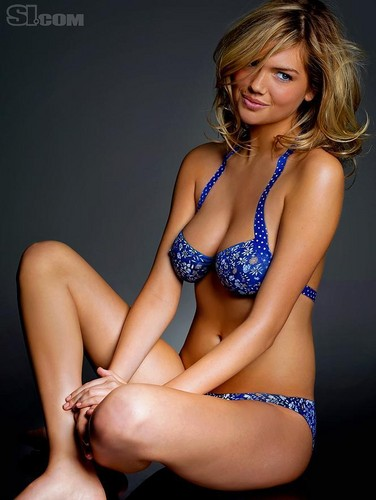 swimsuit si wallpaper containing a bikini titled Kate Upton in bodypaint