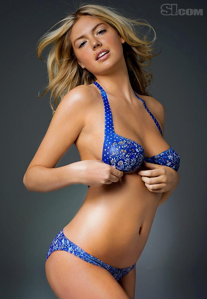 swimsuit si Kate Upton in bodypaint