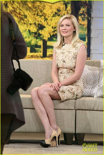 Kirsten Dunst: 'Melancholia' Talk on GMA!