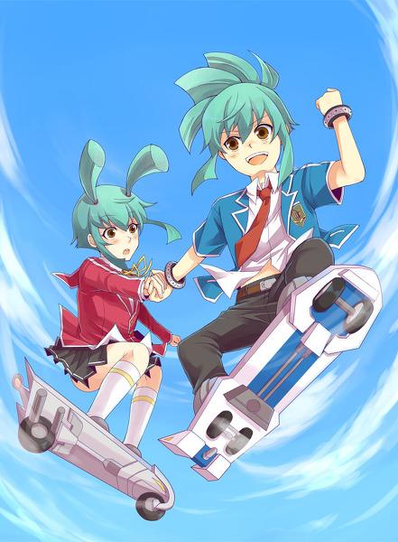 Leo and Luna - Yugioh 5ds Fan Art (26579650) - Fanpop
