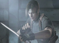 Leon in RE4 - leon-kennedy screencap