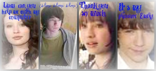 Liam Aiken and Emily Browning
