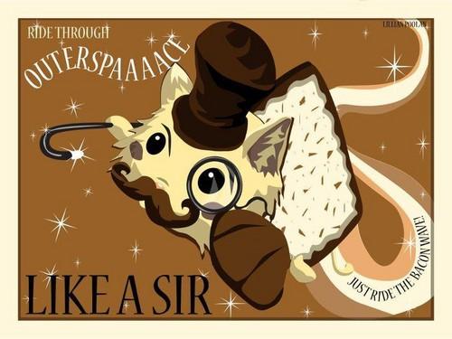 Like a....sir