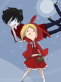 Little red riding fionna - adventure-time-with-fiona-and-cake photo