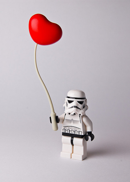 Star Wars Love Lego star wars images love is everywhere wallpaper and ...