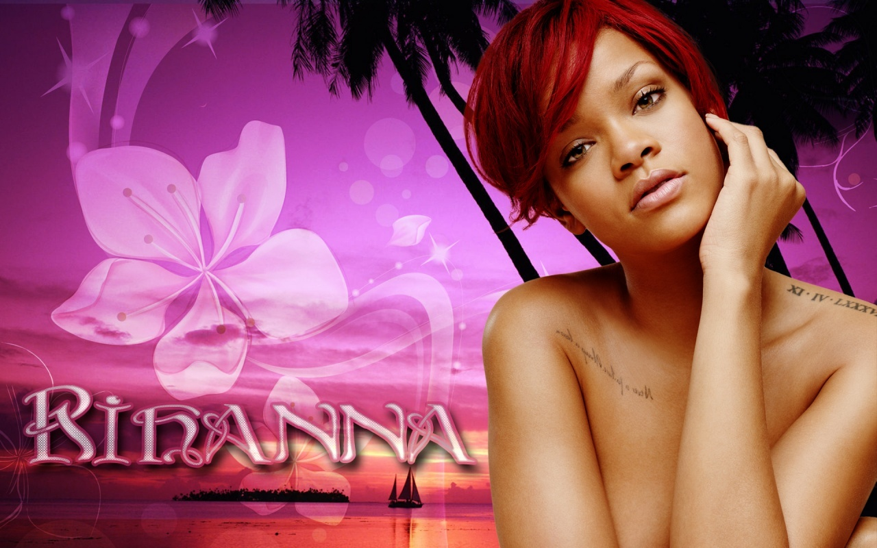 Lovely Rihanna Wallpaper