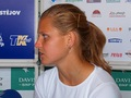 Lucie Safarova hair