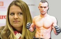 Lucie Safarova: tenis player Berdych was replaced boxer, boxeador Buchinger !