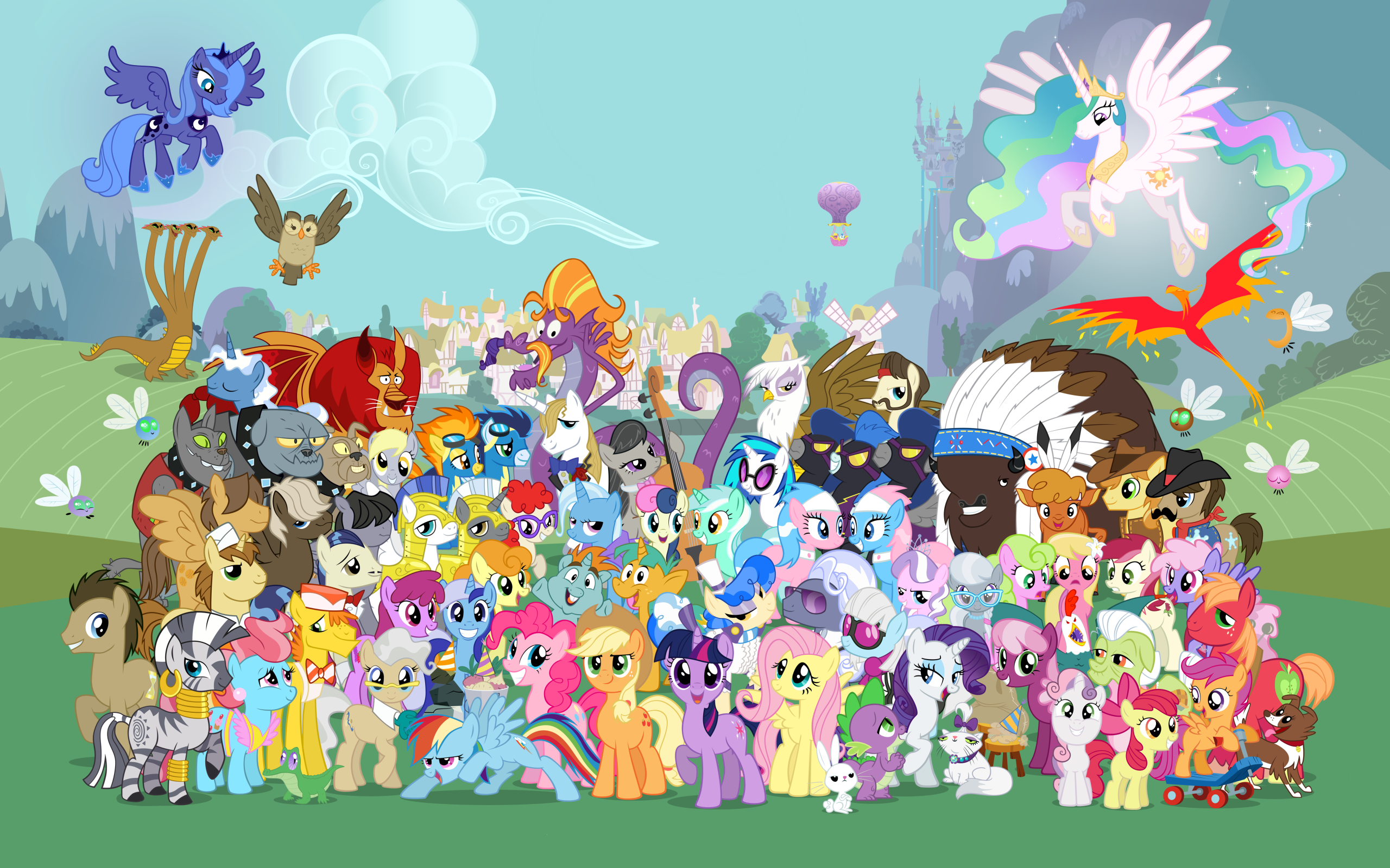 My Little Pony Friendship Is Magic MLP Wallpapers