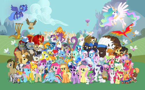 my little pony friendship is magic wallpaper probably with a japanese aprikot entitled MLP wallpaper