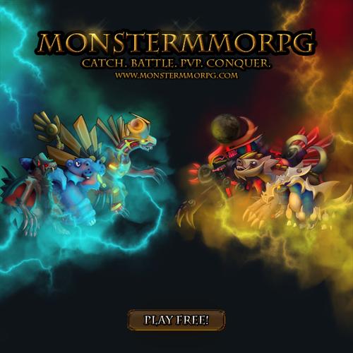 Monster MMORPG Awesome Banner