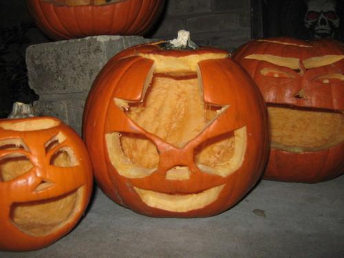 My ハロウィン かぼちゃ, カボチャ :)