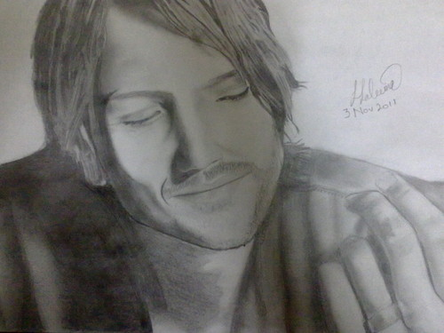 My Keith Urban sketch