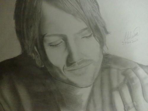 My Keith Urban sketch