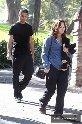NOVEMBER 1ST - Leaving a private residence in Los Angeles, CA