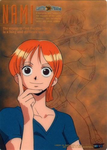 One Piece karatasi la kupamba ukuta with anime called Nami