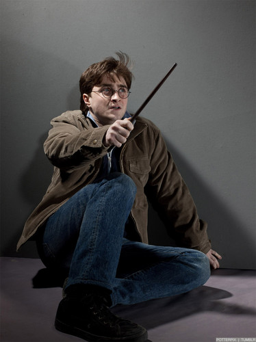 Harry James Potter wallpaper probably with long trousers, a pantleg, and slacks entitled New DH Part 2 Promo