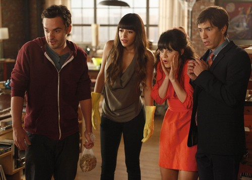 "New Girl - 1x06 ""Thanksgiving"""