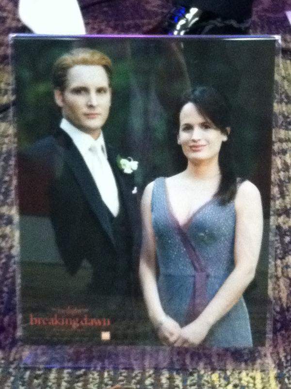 "New ""The Twilight Saga: Breaking Dawn, Part 1"" Pic - Carlisle & Esme."