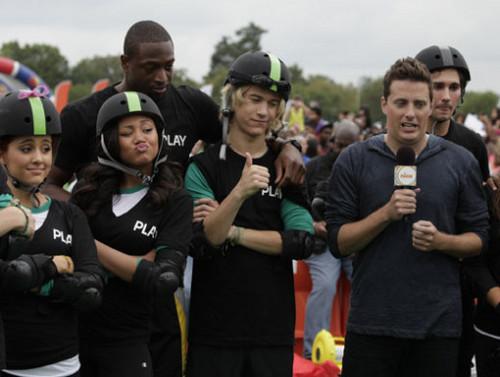 Nickelodeon's World Wide день of Play 2011