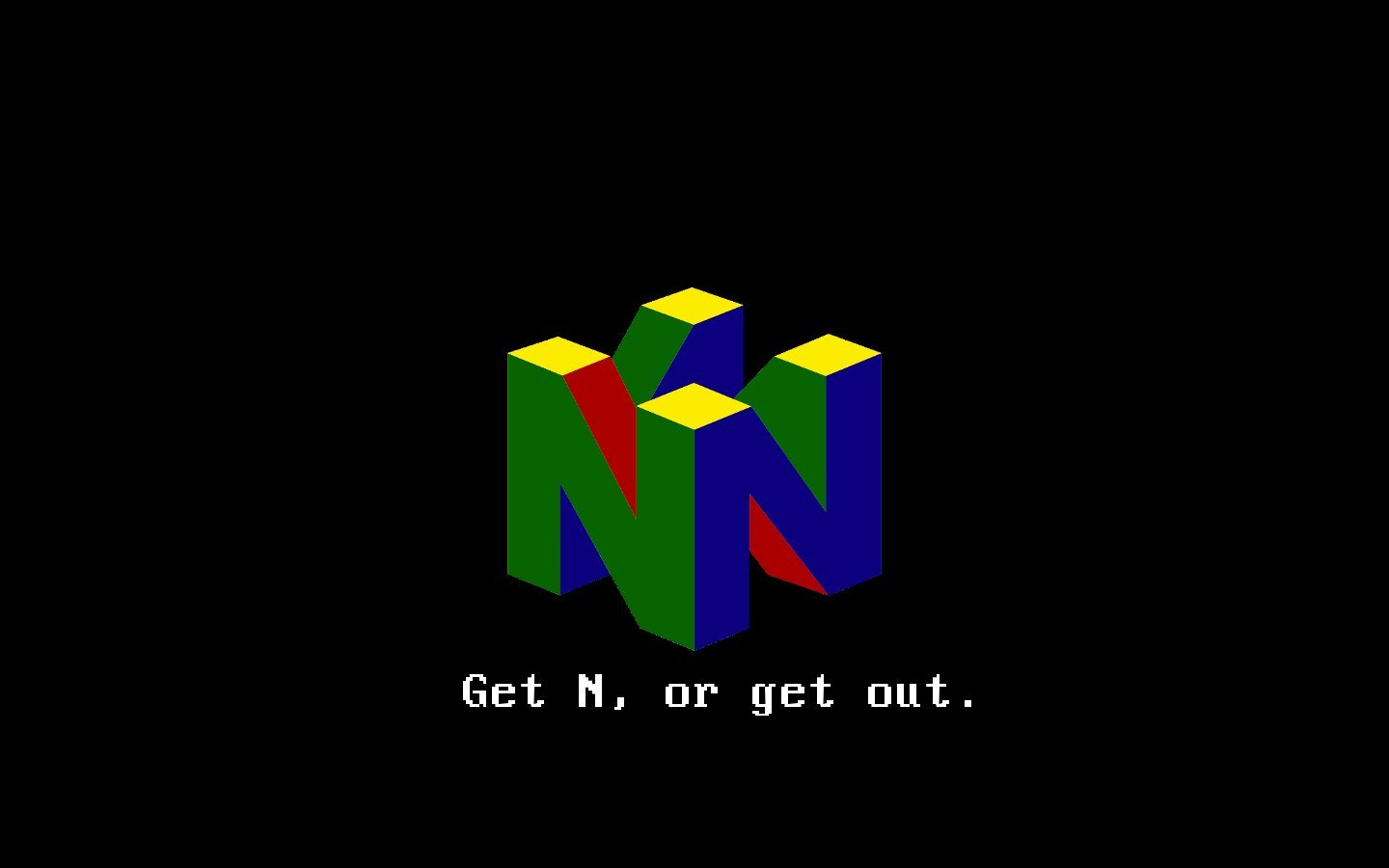 N-64 images Nintendo 64 HD wallpaper and background photos ...