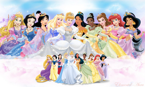 Walt Disney Bilder - Official Disney Princesses