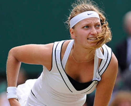Petra Kvitova wimbledon breast