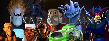 Pixar Villans