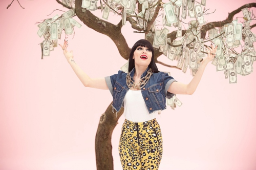 Jessie J wallpaper containing a koktil, koktail dress and a baju rok, gaun entitled Price Tag