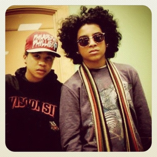 Prince & Roc Swagged Out