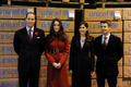 Prince William&Duchess Catherine with Prince Frederik and Princess Mary
