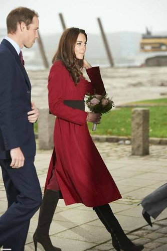 Prince William and Catherine - in Denmark to bring awareness to the East Africa Crisis.