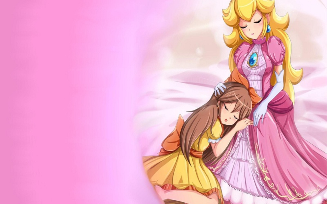 nintendo images princess peach and daisy hd wallpaper and background