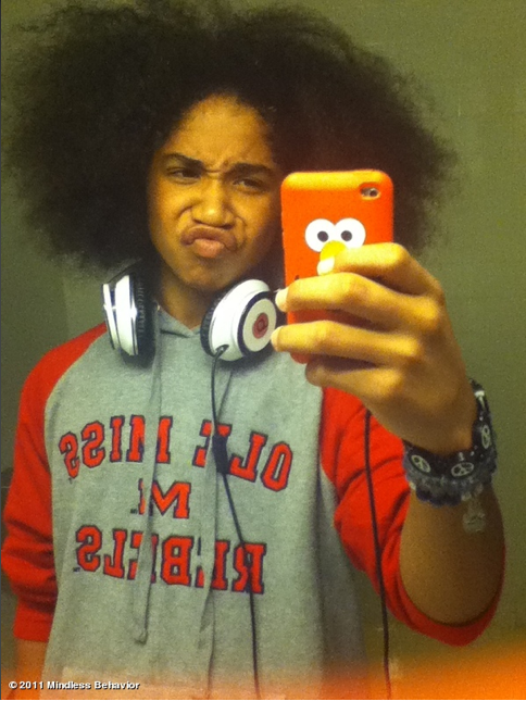 ROC WITHOUT HIS PONYTAIL - roc-royal-mindless-behavior photo