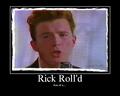 Rick Rolled - rick-astley photo