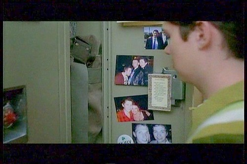 Rory's (Damian's) McKinnley High locker with family & friend Fotos