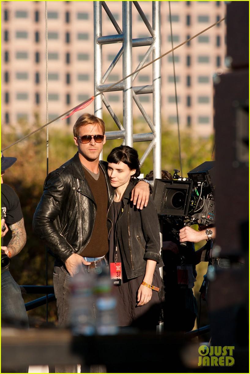 Ryan 小鹅, gosling, 高斯林 & Rooney Mara: 'Lawless' Set Pics!