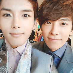 Ryeowook Selca with SJ Members