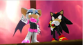 Shadow and Rouge In Sonic Generations - shadow-and-rouge photo