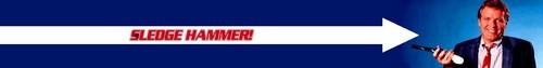 Sledge Hammer! Banner